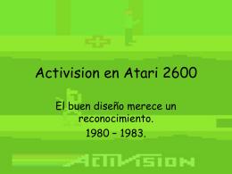 Activision en Atari 2600
