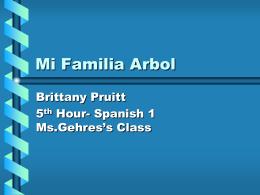 Mi Familia Arbol