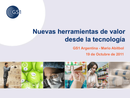 Slide 1 - GS1 Argentina