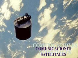 10 Comunicaciones satelitales