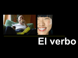 verbo: raíz y desinencia