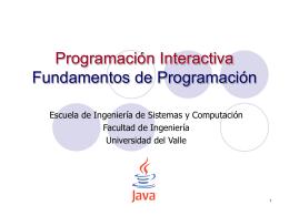 2. Fundamentos de Programación
