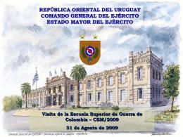 Diapositiva 1 - IMES - Instituto Militar de Estudios Superiores