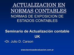 NORMAS_CONTABLES_2 - Técnicas de Valuación