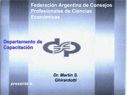 Patrimonio Neto - Consejo Profesional de Ciencias Economicas de