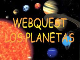 Los planetas - Aula Virtual del CEP de Castilleja de la Cuesta