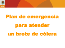 Plan de emergencia ante un brote