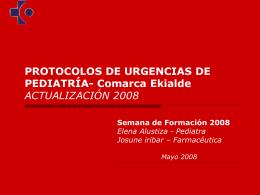 protocolos de urgencias de pediatría