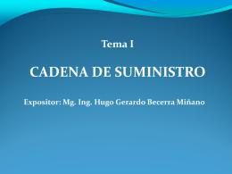 2146LA CADENA DE SUMINISTROS