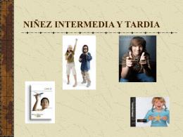 Niñez Intermedia y Tardía / Escolares.