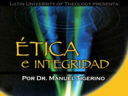 Etica y Integridad
