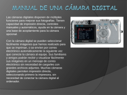 Manual camara 2 - Técnico en Manejo de Equipos de Audio y Video