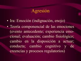 Agresión