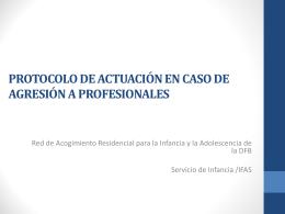 Protocolo Agresión a Profesionales