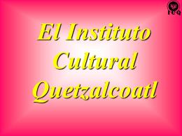 El Calendario Azteca - Instituto Cultural Quetzalcoatl