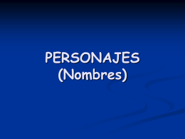 personajes - WordPress.com