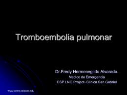 Probabilidad Clínica de Embolia Pulmonar Criterios de Wells