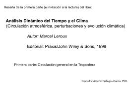 seminarioleroux - Centro de Ciencias de la Atmósfera