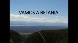 Vamos a Betania