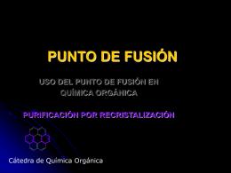 Punto de fusión 2015