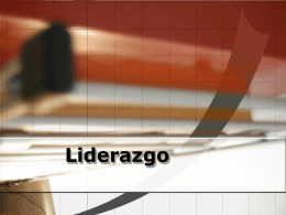 Liderazgo - Canal Legal