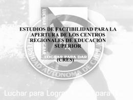 cres - Universidad Autónoma de Chihuahua