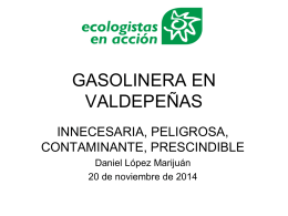 Gasolinera en Valdepeñas