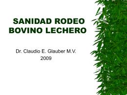 CURSO SANIDAD RODEO BOVINO LECHERO