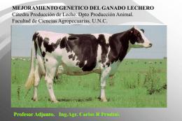 mejoramiento genético - Facultad de Ciencias Agropecuarias | UNC