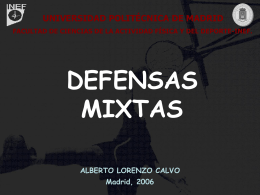 Defensas Mixtas - OCW UPM - Universidad Politécnica de Madrid