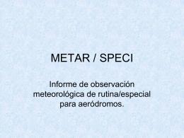 Clave Metar