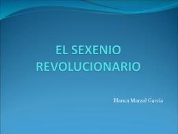 EL SEXENIO REVOLUCIONARIO - Esp-Contemp