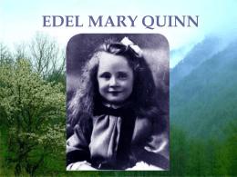 La vida de Edel Quinn - Legión de Maria.