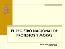 Registro Nacional de Protestos y Moras