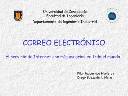 Correo Electrónico - Universidad de Concepción