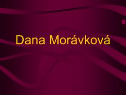 Dana Morávková - publinotcomenius