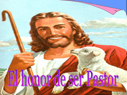 El_honor_de_ser_pastor