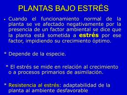 Tema 5 Estres Hidrico - Mis Clases fisiologia vegetal