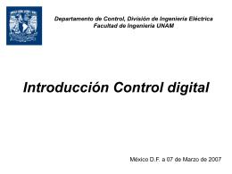 clase17 - departamento de procesamiento de señales