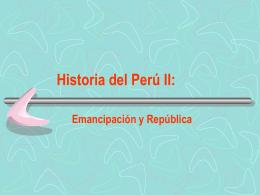 2) Emancipación (1780-1924)