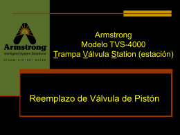 The Armstrong TVS-4000 Trap Valve Station