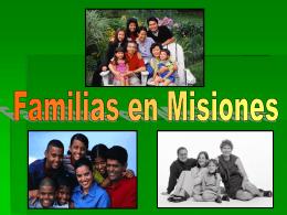 Familias en Misiones