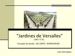 Jardines de Versalles EXAMEN Domínguez