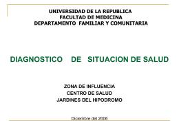 DIAGJARDINES2 - Dpto. de Medicina Familiar y Comunitaria
