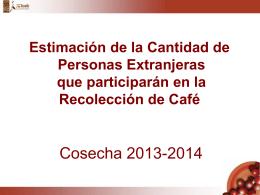 La evolución y perspectiva del empleo en la actividad cafetalera en