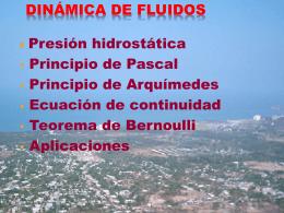 DINÁMICA DE FLUIDOS 2