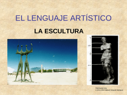 EL LENGUAJE ARTÍSTICO - Historia
