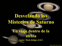 Desvelando los misterios de Saturno