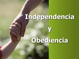 Libertad y Obediencia - W. Madera