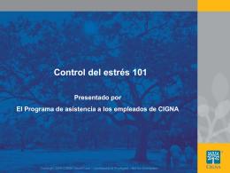 Controle el estrés - CignaBehavioral.com